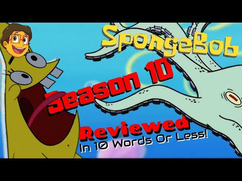 Every Episode Of SpongeBob Season 10 Reviewed In 10 Words Or Less! Ft. The One And Only C.R. Martin