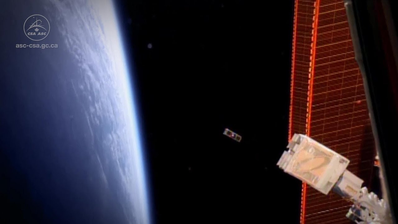 Successful launch of the Ex-Alta 1 CubeSat from the International Space  Station