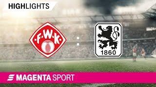 FC Würzburger Kickers - 1860 München | Spieltag 29, 18/19 | MAGENTA SPORT