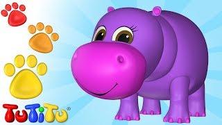 Animal Toys for Children | Hippo | TuTiTu Animals