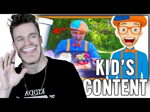 Weird, Overpopular Kid's Content