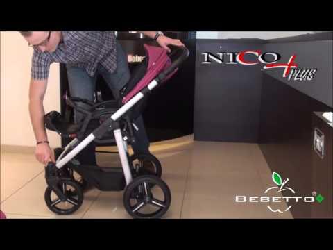 Обзор прогулочной коляски Bebetto Nico