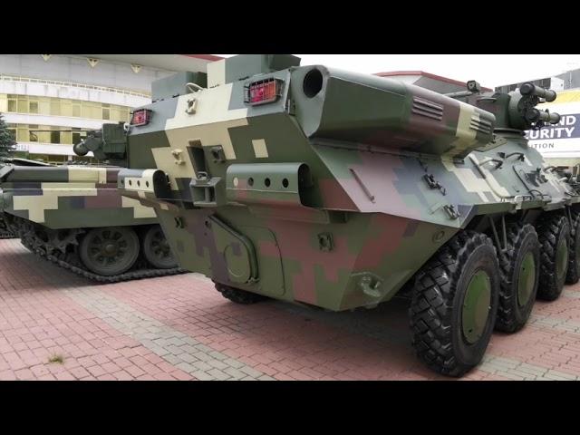 Накануне открытия выставки Оружие и безопасность 2021 в Киеве