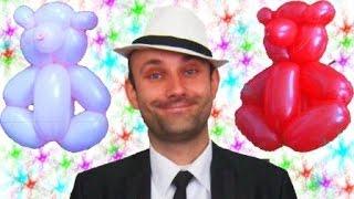 Мишка из шариков шдм аэродизайн ★ Bear of the balloons(Еще одна простая игрушка из одного шарика шдм. Затрат на такого медвежонка практически нет. А ваш ребенок..., 2014-10-07T07:09:21.000Z)