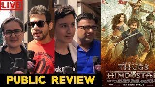LIVE: Thugs of Hindostan Movie Public Review | First Day First Show | Aamir Khan | Amitabh Bachchan