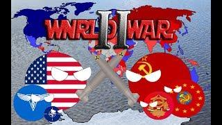 Третья мировая война кантриболз|Альтернативная история 80-х годов
