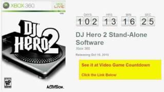 DJ Hero 2 Stand-Alone Software Xbox 360 Countdown