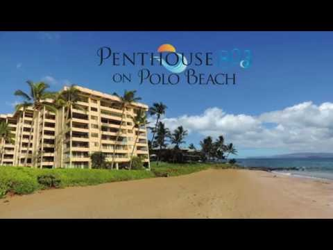 Maui Oceanside Luxury Penthouse Vacation Rental at the Polo Beach Club in Wailea Makena