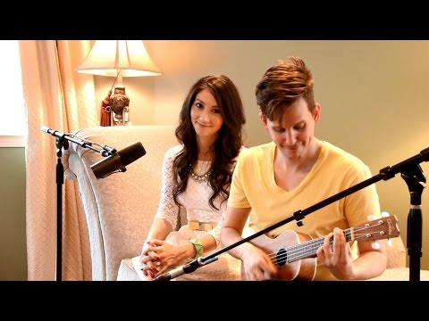 Stuck On You - Meiko ukulele cover (Jake Rongey & Morgan Alise) Surprise Proposal