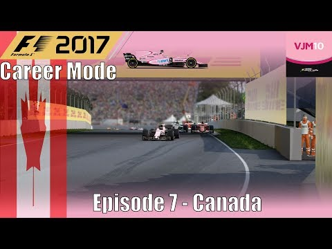 F1 2017 Career Mode Part 7 - Canada (A Perfect Weekend)