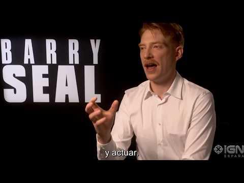 Barry Seal: El traficante - Entrevista con Domhnall Gleeson