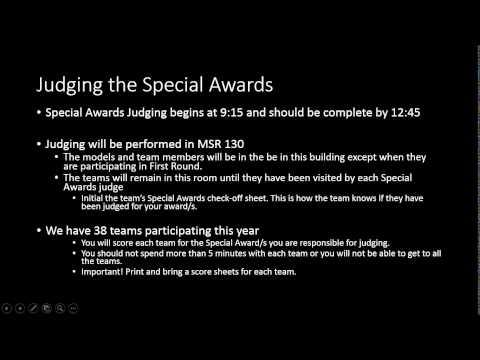 2015 01 19 20 36 2015 NorCal Future City Special Award Judging information