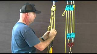 Rope and Pulley Systems: Segment 6 - The Block and Tackle -  4:1 and 5:1.pds.m2ts