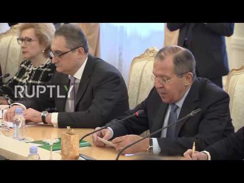 Russia: Lavrov meets Japan's FM Kishida to discuss bilateral ties