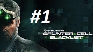 Türkçe Splinter Cell Blacklist #1 *Alışmaya Çalışmak*
