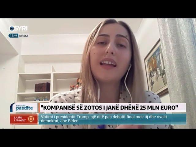 Intervista Syri Tv/ Ina Zhupa: Afera e inceneratorit të Tiranës, dalin detaje të tjera në dritë