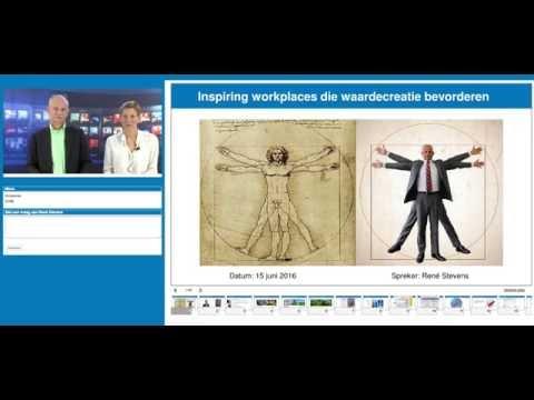 Rene Stevens -ATELIER V- Inspiring workplaces die waardecreatie bevorderen