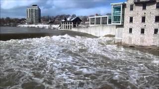 Grand River in Cambridge, Ontario