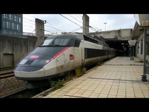 Trains TGV SNCF en GARE MASSY TGV