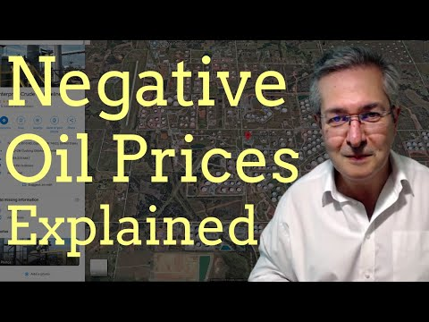 Negative Oil Prices Explained