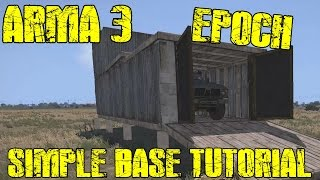 Arma 3 Epoch - Simple Base - Building Tutorial - #2