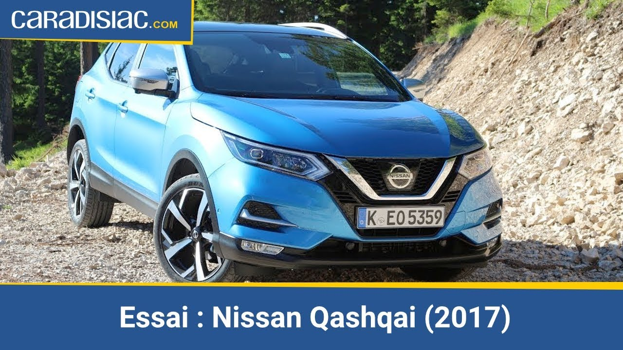 essai nissan qashqai 2017 un bon vieux tube youtube. Black Bedroom Furniture Sets. Home Design Ideas