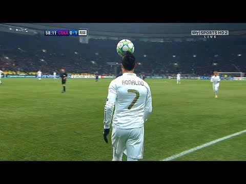 Cristiano Ronaldo Impossible Ball Controls - Magic of Touch