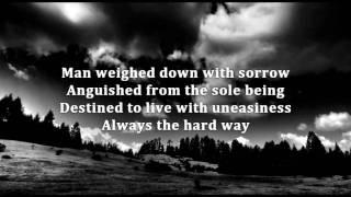 Insomnium - Weighed Down With Sorrow - Lyrics