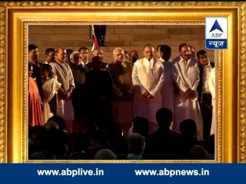 Narendra Modi's swearing-in ceremony ends