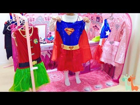 キッズテント 女の子スーパーヒーロー ドレス屋さん / DC Super Hero Girls Boutique , The Pop Up 3D Playscape