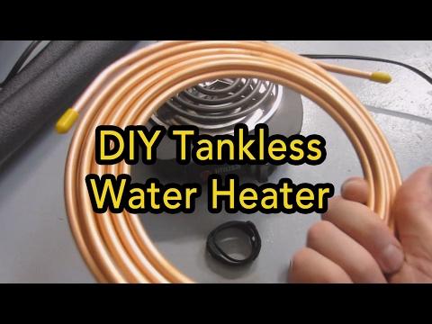 DIY Tankless Inline