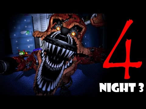 Thumbnail: Five nights at Freddy's 4 Game Play | NIGHT 3