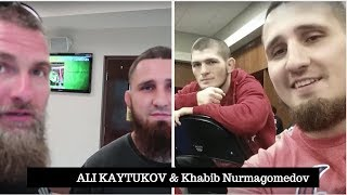 KHABIB Nurmagomedov first Muslim in UFC HISTORY | WHY ALI KAYTUKOV left fighting career in cage MMA?