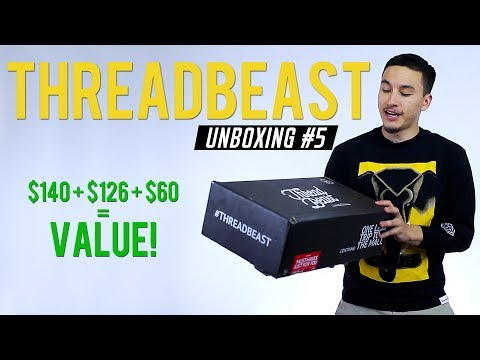 Threadbeast Unboxing #5 | Streetwear Delivered