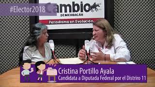 Elector2018 - Entrevista con Cristina Portillo Ayala
