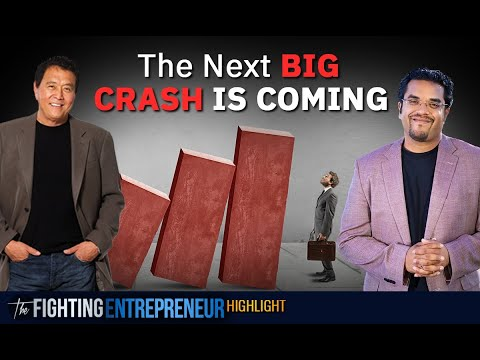 Robert Kiyosaki Shows How To Be Prepared For The Next Crash!