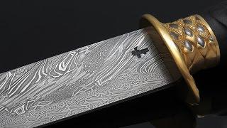 видео ножи из дамасской стали с в Санкт-Петербурге