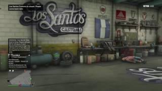 Grand Theft Auto V ONLINE Glitch Get Inside Los Santos Customs on Foot!!!