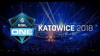 LIVE NOW.... ESL ONE KATOWICE 2018 (English Commentary) LIQUID VS SECRET BO3 game 1