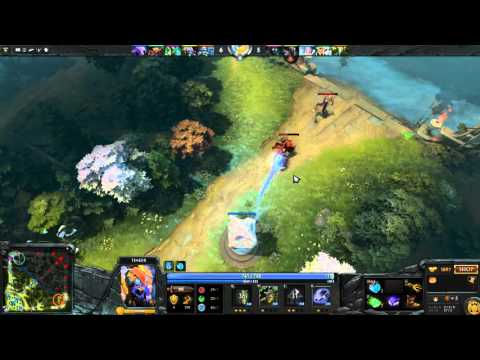 Dota 2 (MY) Tinker Ability Madness (Tombstone + call of nature + rearm = GG )
