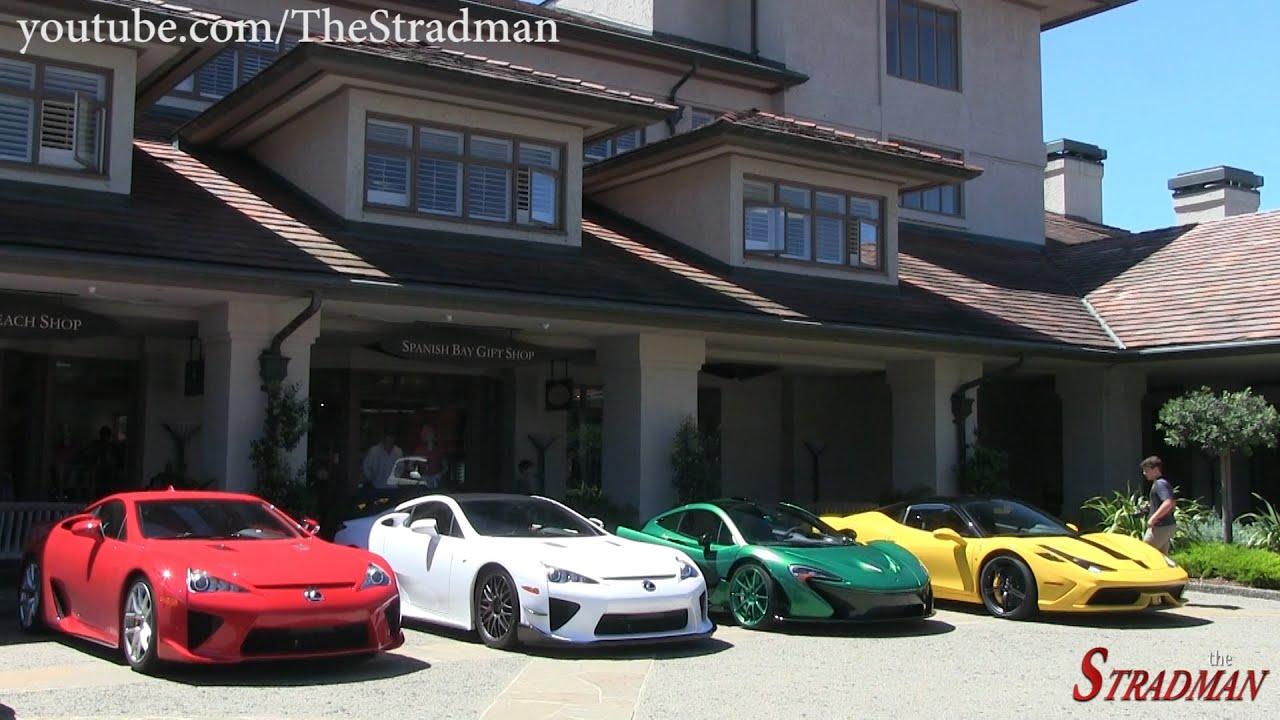 Monterey Car Week Day 2: Hennessey Venom GT, Ferrari Enzo ...