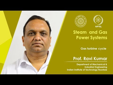 Lecture 31: Gas turbine cycle