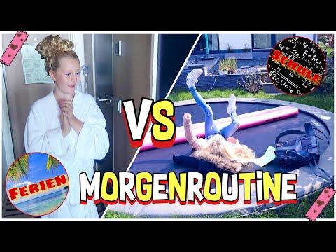 MORGENROUTINE SCHULE VS FERIEN URLAUB  | MaVie Noelle