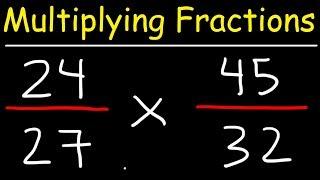 Multiplying Fractions - Tнe Easy Way!