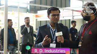 R. D. Industries - sharing their views at KhadhyaKhurak 2018 Golden Edition Exhibition