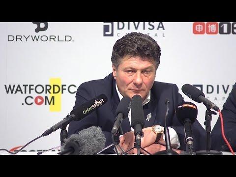 Watford 0-1 Liverpool - Walter Mazzarri Full Post Match Press Conference