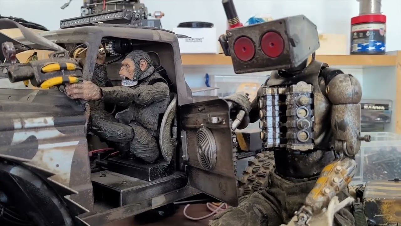 RC Animatronics by Danny Huynh Creations.