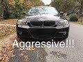 BMW E90 M Sport Bumper Installed