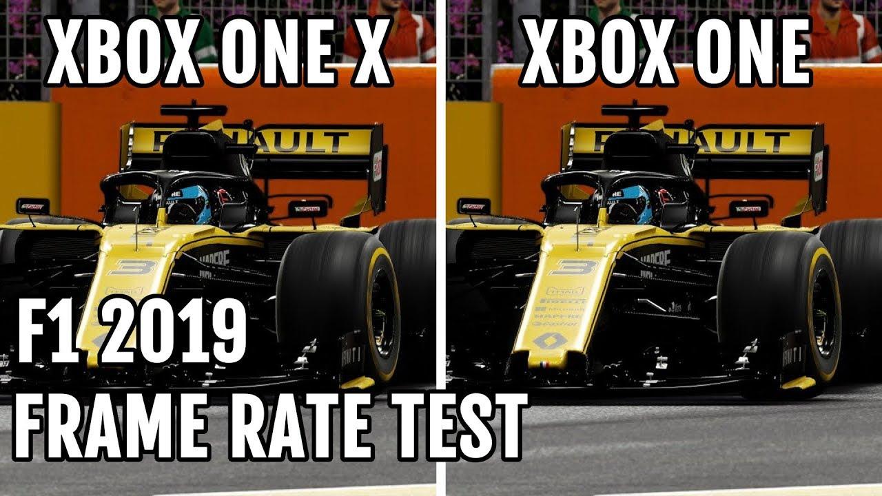 F1 2019 - Xbox One X vs Xbox One - Frame Rate Test - YouTube