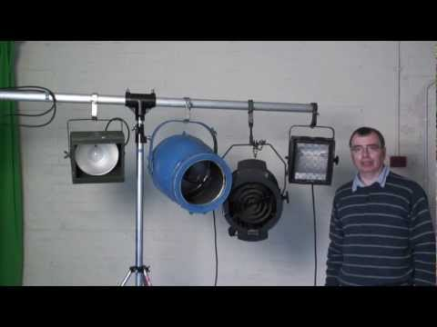 Introduction to stage lights. No1 Floodlights